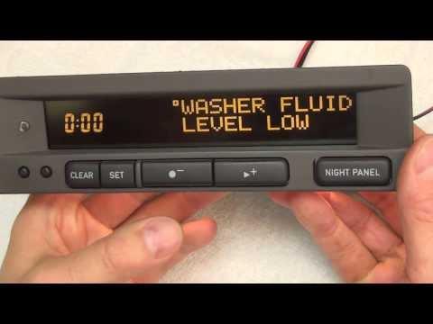for SAAB 93 95 9-3 9-5 SID2 COMPUTER LCD PIXEL DISPLAY REPAIR RIBBON CABLE