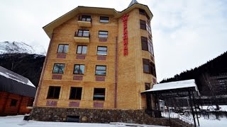 Домбай официальный сайт. Отель Меридиан в Домбае.