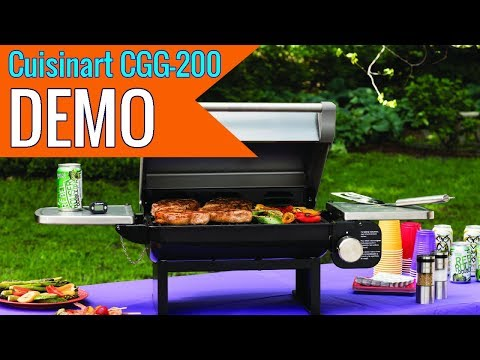 Cuisinart CGG 200 All Foods Tabletop Gas Grill 2019 review