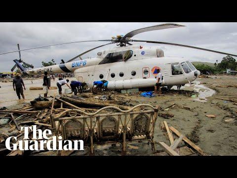 Flash floods cause devastation in Indonesia thumbnail