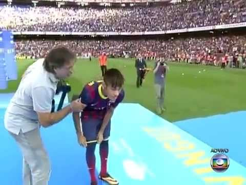 Neymar At Barcelona ● Official Presentation of Neymar at Barcelona Travel Video