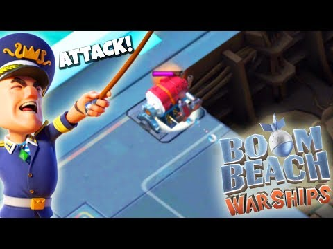 THE BEST Attack Strategy for WARSHIPS in Boom Beach!