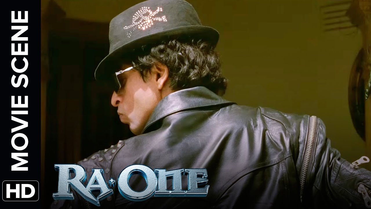 Download Shah Rukh Khan in Michael Jackson look | RA.One | Movie Scene