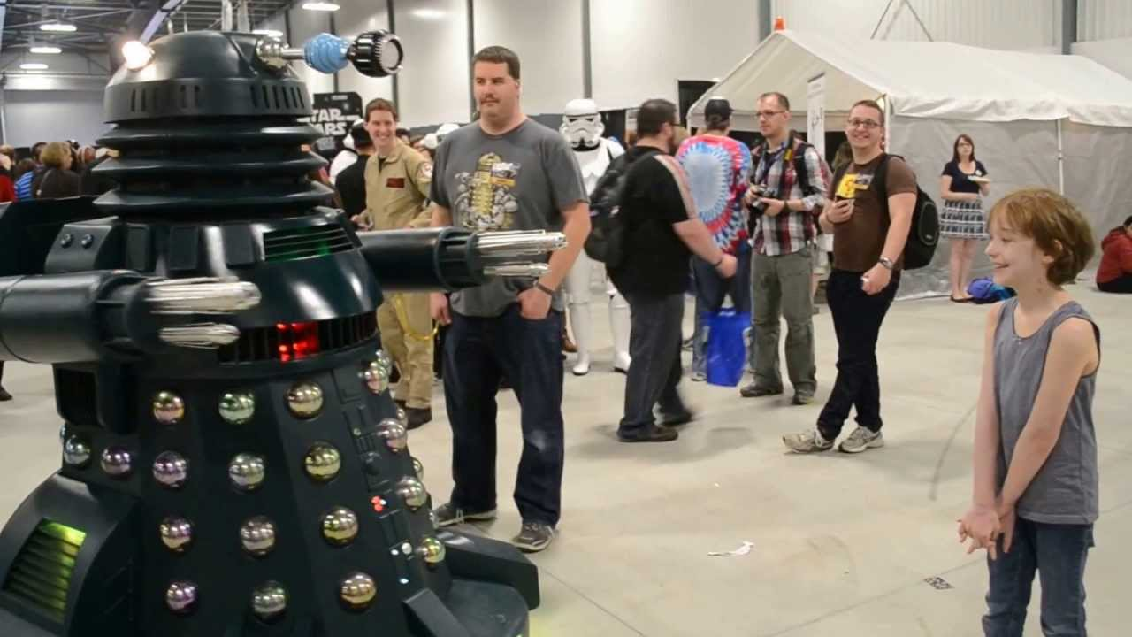 Dalek Dreadnaught At Ottawa Comiccon 2013 Youtube