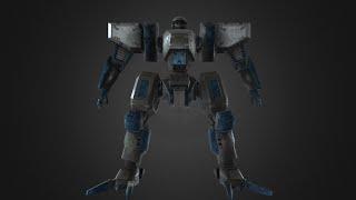 Blender. Front Mission timelapse modeling. Part 1
