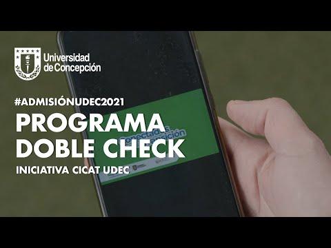 #AdmisiónUdeC2021: Programa Doble Check