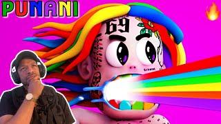 6IX9INE- PUNANI (Official Music Video) REACTION NJCHEESE