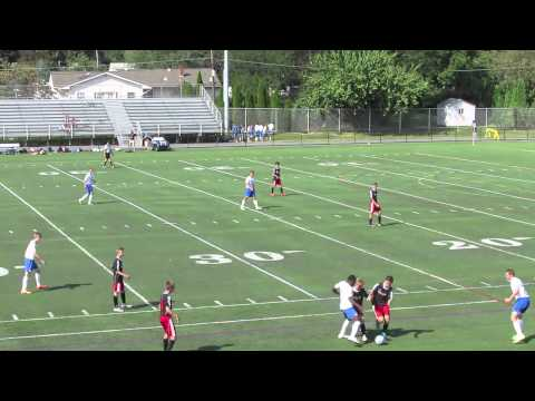 Nazareth Area High School Boys Soccer Vs Saucon Valley High School 9/5/2015