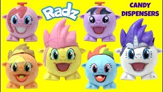 MLP My Little Pony Wrong Heads Mix N Match Radz Candy Dispensers