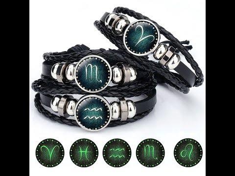 Стильный браслет- Знак зодиака