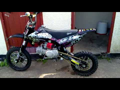 Super Stomp Z 140 2011 Pit Bike Sold Sold Sold Youtube