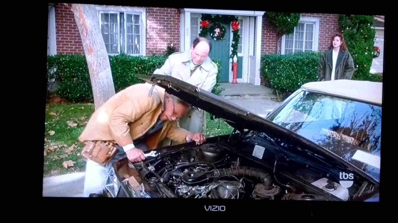 Image result for pop fixing george's car