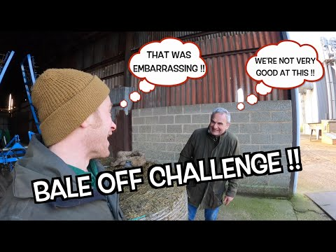 BALE OFF CHALLENGE!! IT DIDN'T GO VERY WELL!