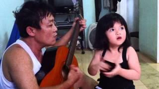 Lê ngọc Hà 4 tuổi Pleiku hát H'ren lên rẫy