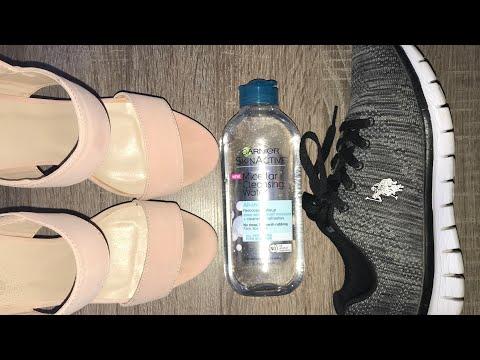 Micellar Water to Clean Shoes   Regular Schmegular Hack