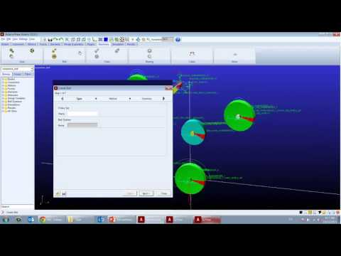 Model and Analyze Serpentine Belt system in Adams