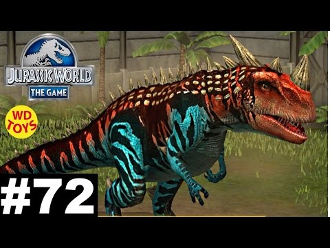 Jurassic World - The Game Dinosaurs Ludia Episode 72 Gameplay Walkthrough Vs T-Rex  - WD Toys