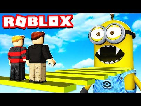 Escape The Minions Obby In Roblox Youtube