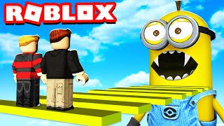 ESCAPE THE MINIONS OBBY IN ROBLOX!