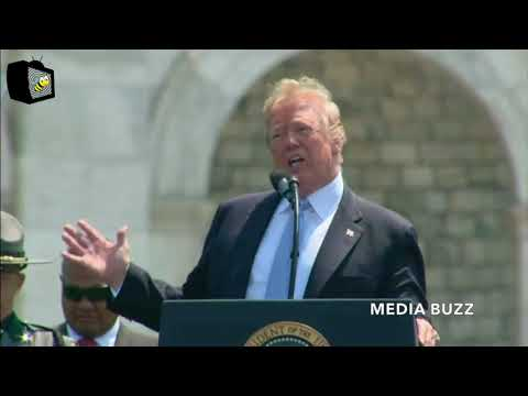 Trump Gives Emotional Speech Honoring Fallen Police And Their Families 5/15/18