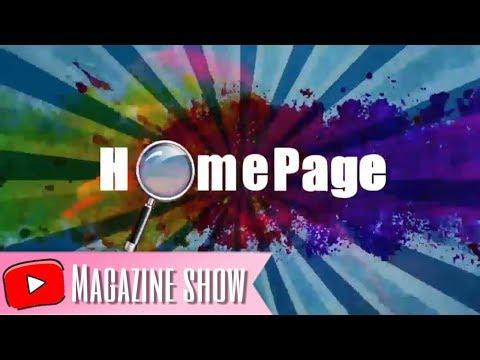 "Program Televisi Magazine Show ""Homepage"" (Tugas Akhir BSI Margonda - 2017)"