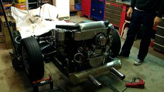 moteur cox 2165 Type 4, air box Métal Machines !!!