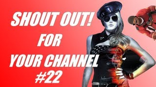 Shout out for your channel #22: Awesome games! (PC)