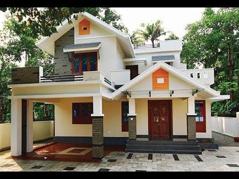 Small Modern Double Floor House 1200 Sft For 12 Lakh Elevation Interior