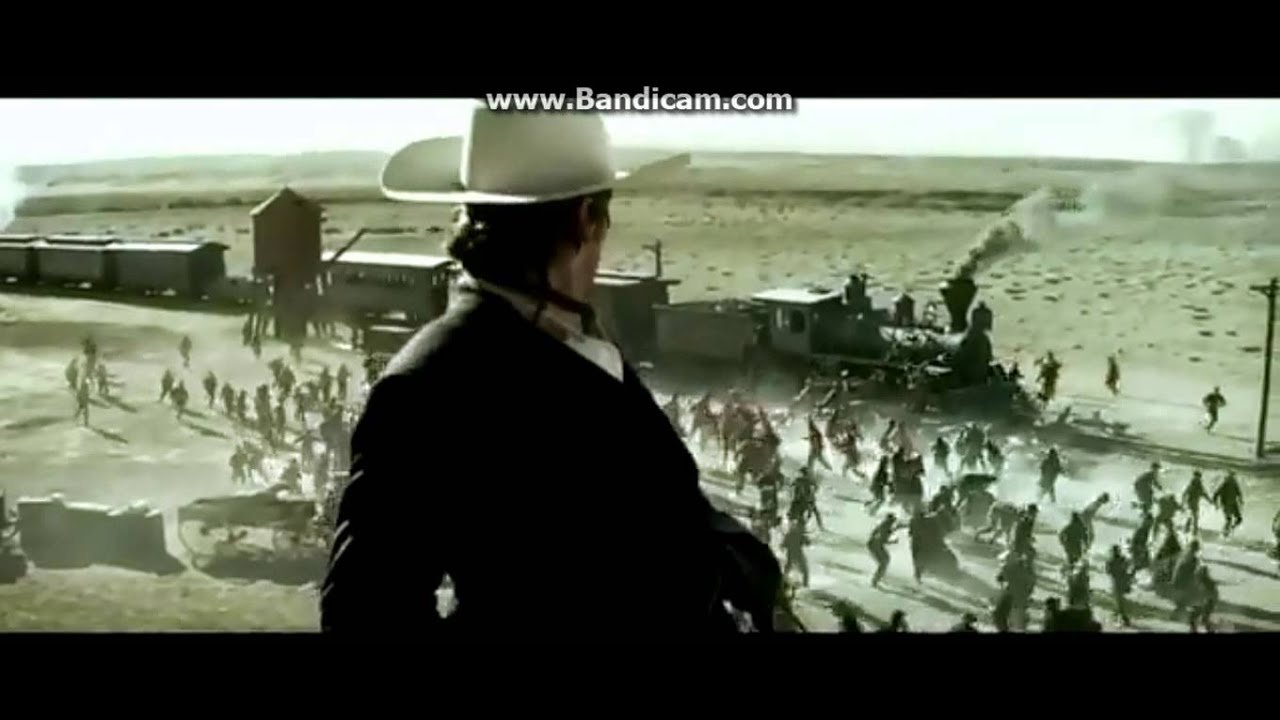 The Lone Ranger - train the battle begins - YouTube