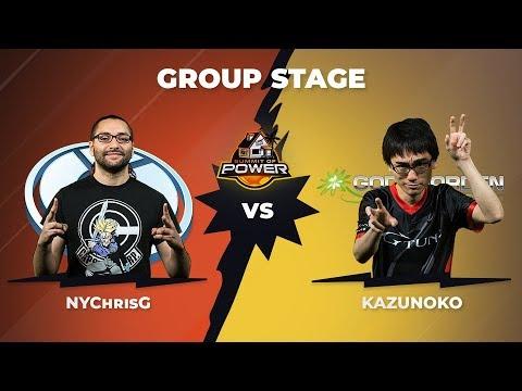 NyChrisG vs Kazunoko - Group Stage: Pool B - Summit of Power