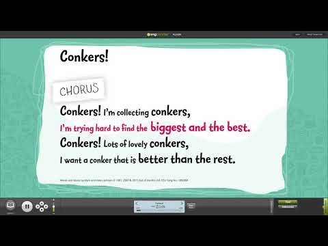School Top Harvest Songs Compilation with Words on Screen™