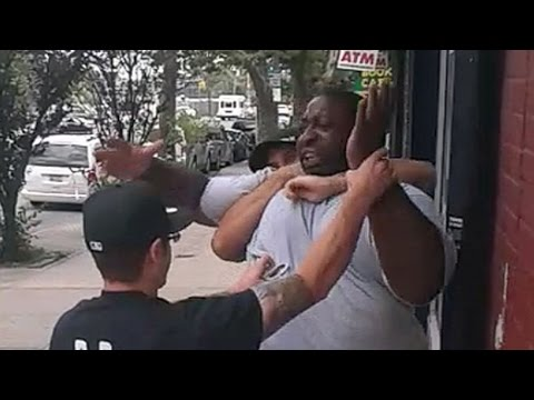 ERIC GARNER WAS CHOKED TO DEATH AND HIS KILLER WAS SET FREE