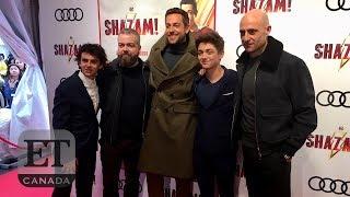 Zachary Levi Talks 'Shazam', Dwayne Johnson Sequel Rumours