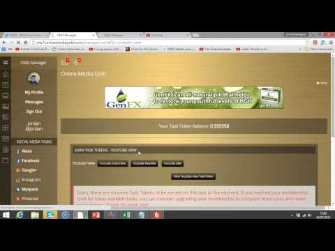 How to do your OMG daily qualification with Jordan   Online Media Gold