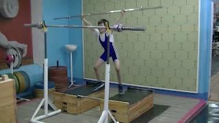 Шумихин Артур, 10 лет, св 28 3 Выпрыгивания на плинты 5х5 8 кг