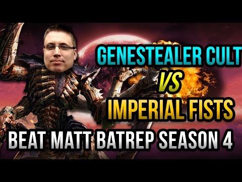 Genestealer Cult vs Imperial Fists Warhammer 40k Battle Report - Beat Matt Batrep Ep 17