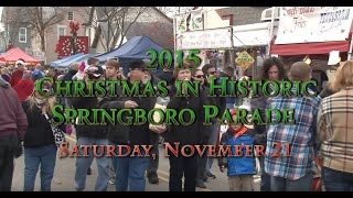 2015 Christmas in Historic Springboro Parade
