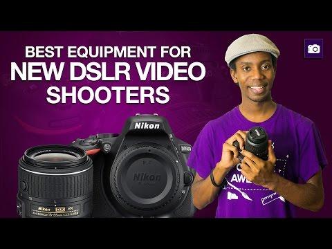 DSLR Video For Beginners | Best Equipment Setup for New DSLR Video Shooters