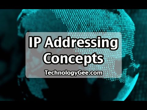 IP Addressing Concepts | CompTIA Network+ N10-007 | 1.4a