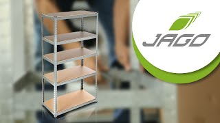 Metal Shelving Units - Jago24