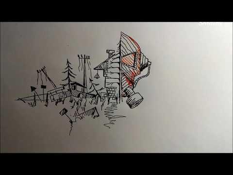 рисунок фантом сталкер