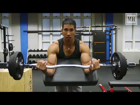Conquer the EZ-Bar Preacher Curl, Max Out Your Biceps