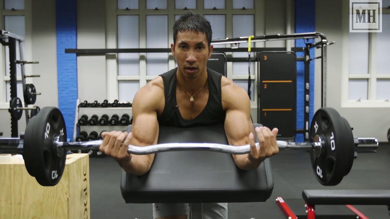 Conquer the EZ-Bar Preacher Curl, Max Out Your Biceps ...  Preacher