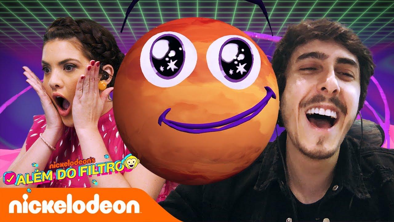 O Curioso caso do Planeta Castanhari   Episódio 1   Além do Filtro Brasil   Nickelodeon em Português