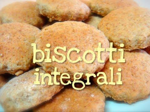 biscotti integrali dietetici senza burro