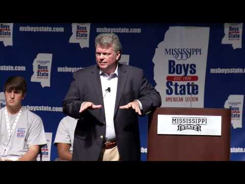 MS Boys State 2015 - State Attorney General Jim Hood