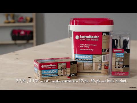 FastenMaster HeadLOK Heavy Duty Flathead Fastener