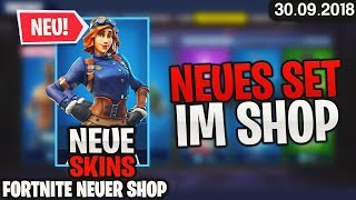 ✈ FORTNITE, SHOP from the 30.9 - new SKINS! 🛒 Fortnite daily item shop today (30 September 2018). Detu