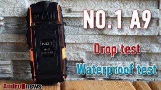 No.1 A9 IP67 обзор отличного защищенного телефона с емким акб drop test waterproof review