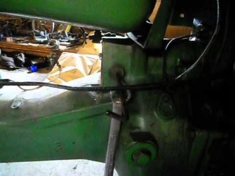 How to remove a starter from a John Deere 40 tractor and John Deere